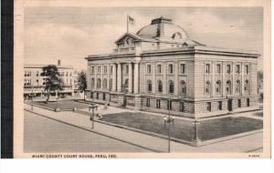 PERU, Indiana, PU-1937; Miami County Court House