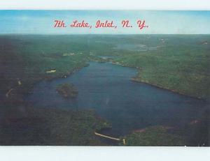 Pre-1980 WATER SCENE Adirondacks - Inlet New York NY hk2252