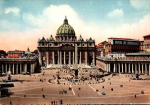 Italy Rome St Peter Square The Basilica