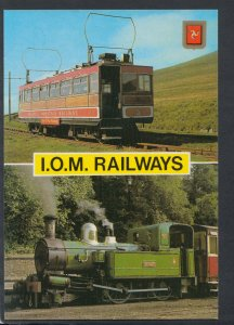 Railway Transport Postcard - Isle of Man Railways    T6953