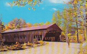 A Picturesque Covered Bridge
