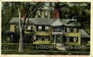 Home of Nathaniel Hawthorne Concord MA 1910