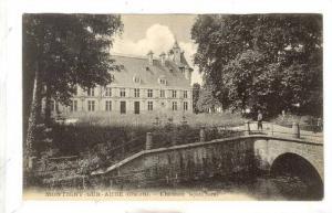 Chateau Facade Nord, Montigny-Sur-Aube (Cote d'Or), France, 1900-1910s