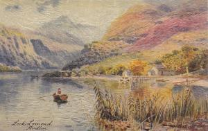 TUCK 7537: AS, Canoe, Ardlui, Loch Lomond, Scotland, UK, 1900-1910s