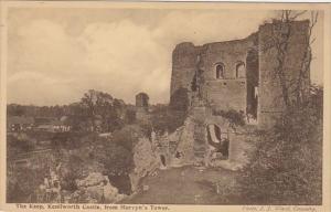 England Warwick The Keep Kenilworth Castle From Mervyn's Tower