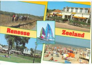 Holland, Netherlands, Renesse, Zeeland, 1998 used Postcard
