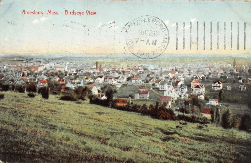 TADOUSAC QUEBEC CANADA VIEWED FROM GOLF LINKS POSTCARD 1908