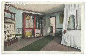 Green Room, Mt Vernon VA