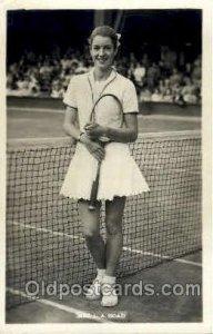 MRS. L.A. Hoad Tennis Unused