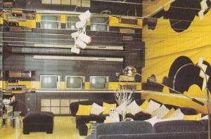 Elvis Presley Graceland Mansion Television Room Memphis Tennessee