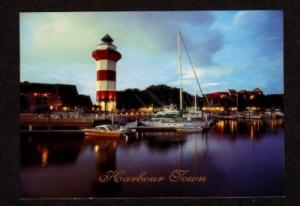 SC Lighthouse HILTON HEAD SOUTH CAROLINA Postcard PC