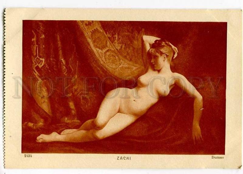257268 Zachi NUDE Female Slave HAREM by DUMAS Vintage SALON PC