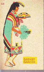 Basket Dancer - Pueblo Tribe on Yucca Card