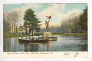 Roger Williams Park, Dyer Memorial, Providence, Rhode Island, PU-1906