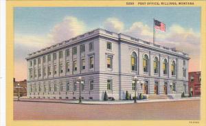 Post Office Billings Montana Curteich