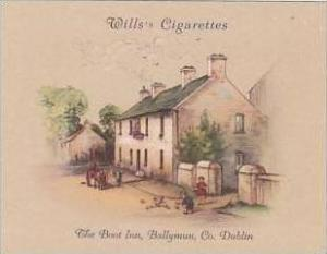 Wills Cigarette Card 2nd Series No 10 The Boot Inn Ballymun Dublin