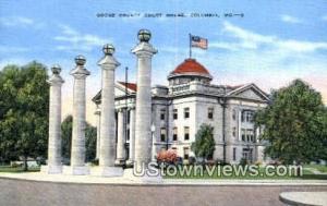 Boone County Court House Columbia MO Unused