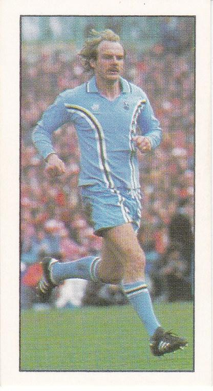 Trade Cards Geo. Bassett FOOTBALL 1979-80 No 44 Terry Yorath (Coventry City)