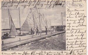 OMAHA , Nebraska , 1907 ; Lake Manawa
