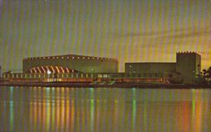 Florida St Petersburg Bayfront Center At Night