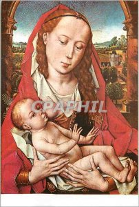 Modern Postcard Royal Museums of Brussels Memling 1425 1494 The Virgin and Child