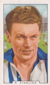 Ronald Starling Hull Football Newcastle United 1930s Cigarette Card