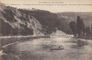 BESANCON, France, 1900-10s; Passage du Douba de Taragnoz a Mazagran