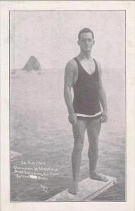 California Catalina Island Ed Harrison Champion Deep Sea Diver Of America
