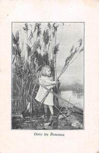 Dans les Roseaux Reeds Girl Harvest