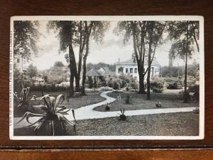 1909 View of Honeywell Park & Public Library, Hoopeston, Illinois IL d9