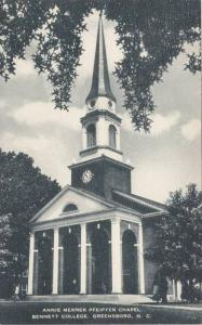 Annie Merner Pfeiffer Chapel, Bennett College, Greensboro, North Carolina, 19...