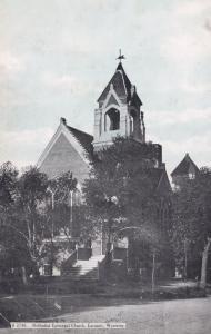 Laramie Wyoming Methodist Episcopal Church Postcard