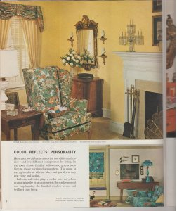 1963 Sherwin-Williams Home Decorator Catalog & Painting Guide Mid-Century Mod