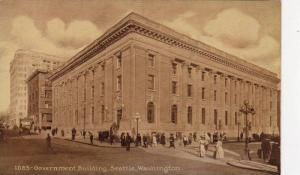 Exterior, Government Building,Seattle, Washington,00-10s