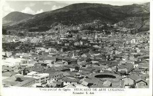 ecuador, QUITO, Relicario de Arte Colonial, Stadium (1950s) RP