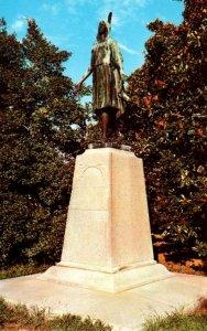 Virginia Jamestown Pocahontas Monument