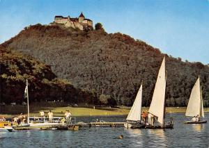 Der Edersee mit Schloss Waldeck Castle River Boats