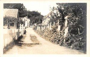 G31/ Cape Cod Massachusetts RPPC Postcard c1940s Homes Road 9