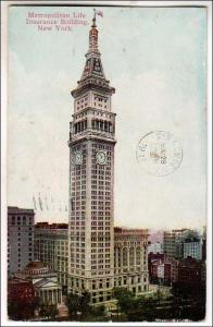 Metropolitan Life Insurance Bldg, NYC