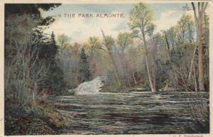 ALMONTE , Ontario , Canada , 1901-07 ; In the Park
