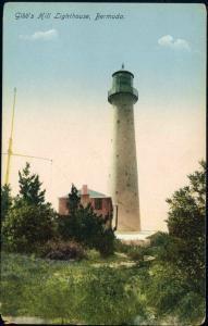bermuda, Gibb's Hill Lighthouse (1910s)