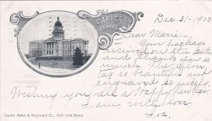 Capitol , DENVER , Colorado ; PU-1903
