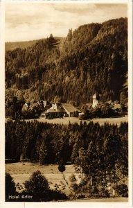 CPA AK Hinterzarten Hotel Adler GERMANY (1019134)