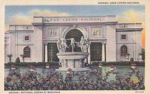 Cuba Havana National Casino Curteich