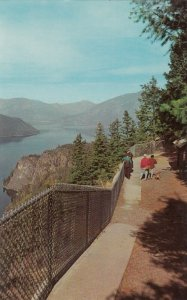 SLOCAN LAKE , B.C. , Canada, 50-60s