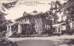Administration Building Loeb Memorial Home For Convalescents East View New Yo...