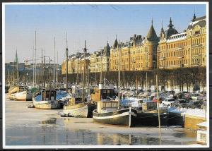 1993 Sweden, Stockholm, Strandvage, mailed to USA