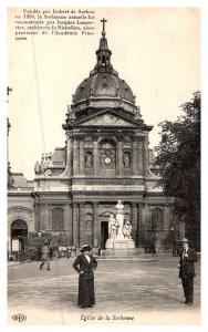 Paris    Eglise de la Sorbonne