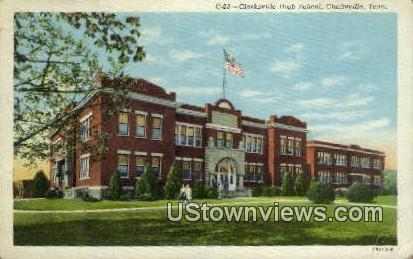Clarksville High School Clarksville TN Unused
