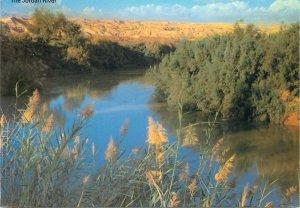 Post card Jordan river scenic view